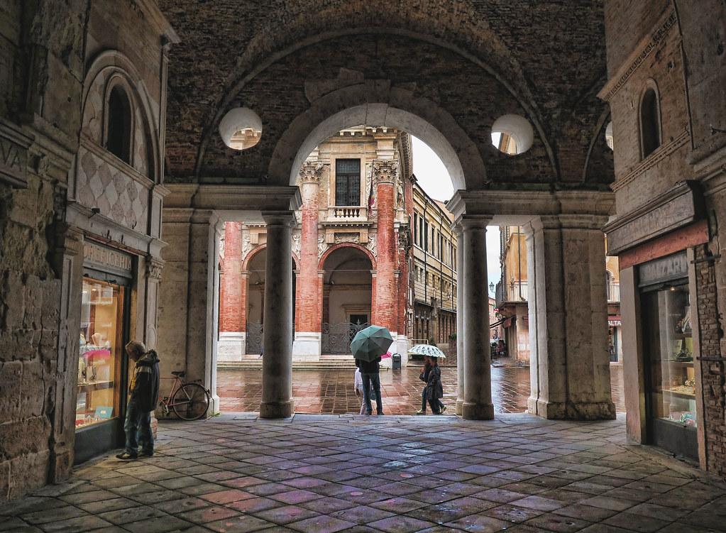 Basilica Palladiana Interior