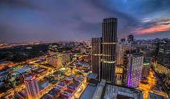 Kuala Lumpur Sentral during Sunset