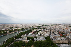(LouisQiu) Tags: city travel bridge paris france tower seine architecture europe eiffel  overlooking