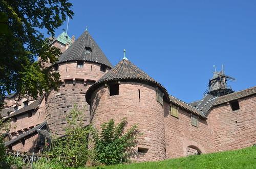 Le château du Haut-Koenigsbourg.45