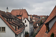 Tejas y tejados (Julia Mora Crespo) Tags: travel buildings germany deutschland nikon rooftops roofs alemania rothenburg nikond5000
