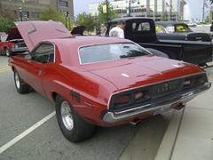 "'73 Dodge Challenger ""440"" #2 (artistmac) Tags: car illinois automobile belleville il dodge mopar really 440 1973 challenger 73 okay ponycar bellevillecarshow"