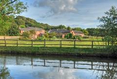 The Farm (Keo6) Tags: boat canal cheshire farm