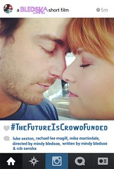 """Meet the #LaFilmPrize Top 20: Say """"hello"""" to Mindy Bledsoe's """"#TheFutureisCrowdFunded"""". SHARE if you LIKE this Louisiana Film Prize film."""