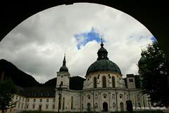 Kloster Ettal (ute.mueller) Tags: abbey bayern bavaria oberbayern monastery kaiser benedictine dem ludwig kloster oberammergau ettal benediktiner 1330 abtei