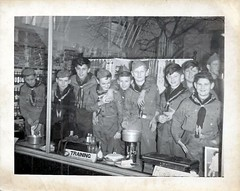 Scout storefront (rfulton) Tags: boys children boyscouts cubs cubscouts bsa