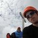 Ruchen Nordwand, auf dem Gipfel