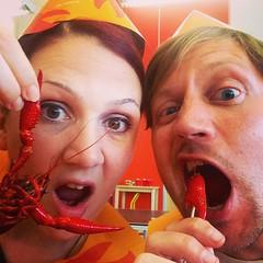 Crayfish with @sfjuggernaut.