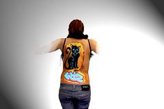 """Graffiti Body Painting"" by WIZ (Wiz Art) Tags: urban italy streetart art writing photography graffiti artwork artist urbanart streetartist marker writer bodypainting bodyart graffitiartist bergamo graffitiart wiz streetstyle uniposca"