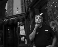 Philadelphia, 2014 (Alan Barr) Tags: street people blackandwhite bw philadelphia monochrome mono blackwhite candid streetphotography panasonic sp streetphoto chestnutstreet 2014 gx7