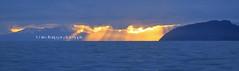 jacksons bay sunrise (rinathompsonphotography) Tags: newzealand nature water weather sunrise nz southisland wilderness sunrays westcoast westland waterscape jacksonsbay southwestland rinathompson