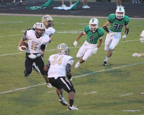 """Kickoff return vs. Clifton. 9.19.2014. Sophomore year. • <a style=""""font-size:0.8em;"""" href=""""http://www.flickr.com/photos/38444578@N04/15127360710/"""" target=""""_blank"""">View on Flickr</a>"""