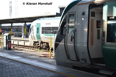 22038 at Heuston, 22/9/14 (hurricanemk1c) Tags: dublin irish train rail railway trains railways irishrail rok rotem 2014 heuston icr iarnrd 22000 22038 ireann iarnrdireann premierclass 5pce 1625heustonlimerick