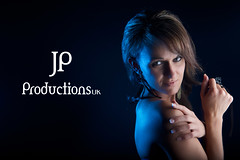 Anusia In The Studio (Jigsaw-Photography-UK) Tags: blue portrait girl model short jpproductionsuk