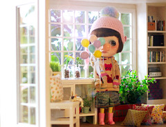 dolly house (maryPOP(!)) Tags: sol doll blythe diorama dollhouse customblythe casadeboneca roombox 16scale playscale