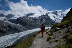 trail to Chamanna da Boval SAC (Toni_V) Tags: mountains alps nature landscape schweiz switzerland europe suisse hiking 28mm rangefinder glacier trail bellavista alpen svizzera gletscher engadin wanderung m9 2014 bernina oberengadin pontresina graubünden grisons svizra pizpalü grischun vadretpers morteratschgletscher elmaritm bovalhütte vadretdamorteratsch ©toniv leicam9 140822 l1017957