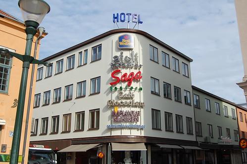 Best western Hotel skyltar