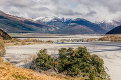 Trans Alpine. (Ian M's) Tags: new train landscape zealand hdr