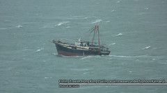 Fishing Trawler | Hong Kong (AC Studio) Tags: ocean china sea water boat fishing chinese wave vessel hong kong aberdeen maritime trawler typhoon t8