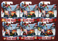 MiniMates - Civil War Wave 2 (Darth Ray) Tags: minimates marvel captain america civil war wave 2 agent 13 mercenary secretary ross tru exclusive antman falcon black widow crossbones wartorn iron man sdcc suited vision scarlet witch