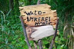 Wald-Imkerei (Hans-Jrgen Bckmann) Tags: waldimkerei waldhonig schilder