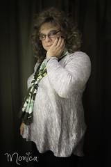 Sweet and demure (Monica E Lopez) Tags: demure meek sissy crossdress scarf cd