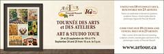 Nathalie Frenire au ARTour (Leelooart) Tags: nathaliefreniere abstrait peinture art color colorful
