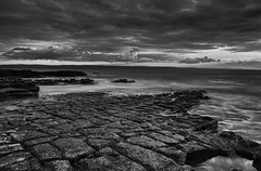 Causeway (scamart1st) Tags: seascape landscape coast rocks water le long exposure waves sunset wales uk