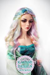 LDoll Festival: Pastel Rainbow wig (Kimirra) Tags: bjd abjd kagamidesign angorawig angora alpacawig bjdalpacawig surialpaca alpaca souldoll souldollshiva sdwig ldoll ldollfestival ldoll6 rainbow colorfulhair colorfulwig colorwig