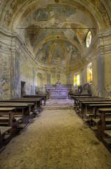 Abandoned church (Arno G) Tags: pentax k5 urbex abandonn church eglise poussire sigma1020mmf35exdchsm explorationurbaine hdr italy decay
