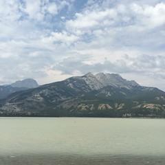 #Horizon #BlueSkies #Cloudy #Mountains #Lake #Nature #BreathTakingView #Jasper #Alberta #ThrowbackPhotography #NoFilter #Iphonegraphy (johnzychua458) Tags: horizon blueskies cloudy mountains lake nature breathtakingview jasper alberta throwbackphotography nofilter iphonegraphy