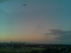 Sydney 2016 Oct 25 19:23 (ccrc_weather) Tags: ccrcweather weatherstation aws unsw kensington sydney australia automatic outdoor sky 2016 oct evening