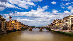 Florence from the Ponte Vecchio (tomasc75) Tags: arno tuscany florencia sel1635z rio river italy italia toscana a7r firenze florence alpha7r carlzeiss fe1635mmf4zaoss ilce7r sony variotessar