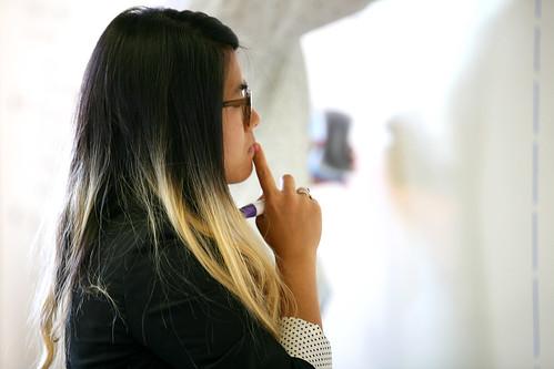 Lisa pondering