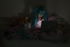 20161016 - LOL - 008 (F4Photography) Tags: cosplay hatsunemiku lol lotsoflaugh plushies stuffedanimals pastel pink lolita laptop darkness shadow