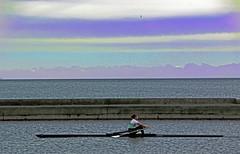Purple Haze (ARRRRT) Tags: purplehaze arrrrt flick singlescull rowingboat scull ontariolake wow