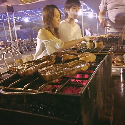 第二次嚟芭希雅重慶燒烤 地方大咗唔少 #傳媒+公關老友聚一聚