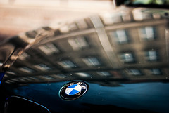 BMW (ewitsoe) Tags: bmw hood refelction surface city ewitsoe nikond80 35mm abstract cityscape car carhood auto automobile vehicle