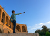 Iranian man taking a selfie on khaju bridge pol-e khaju, Isfahan province, Isfahan, Iran (Eric Lafforgue) Tags: 1people adult adultsonly ancient architectural architecture attraction bridge building city colorimage copyspace cultural day esfahan fullframe hispahan horizontal iran iranian isfahan ispahan khajubridge landmark leisureactivity middleeast onemanonly orient outdoors persia photography selfie sepahan shahabbas stone stony tourism touristic traveldestinations unescoworldheritagesite urban zayandeh isfahanprovince