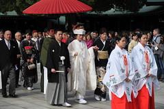 A Story Of Their Own (memories of time) Tags: japan tokyo wedding people shrine meijijingu