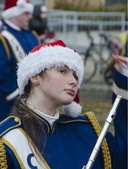 D7K_0928_ep (Eric.Parker) Tags: santaclausparade santa claus parade toronto 2016 marching band uniform school costume instrument music drums november bloor christie military float disney sousaphone musicalinstrument bell christmas snow freezing blizzard