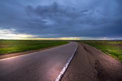 Exit Interstate 40 - Glenrio - New Mexico - USA (R.Smrekar-CH) Tags: clouds landscape newmexico road usa route66 thunderstorm d750 smrekar 000100
