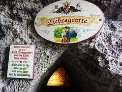 Love Grotto, Salzburg AT (Boston Runner) Tags: salzburg austria 2016 love grotto liebesgrotte kiss everlasting