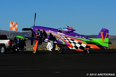 """""""We had a good day today..."""" (arcticrail) Tags: reno races racing rara race airplane aircraft airshow air action aviation airraces airplanes stead september field nikon nevada mustang merlin steven hinton jr voodoo bob button unlimited"""