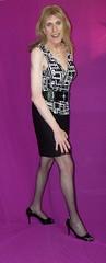 March 2016 (80) (Rachel Carmina) Tags: cd tv ts tg trap tgirl trans sexy heels nylons crossdresser transvestite