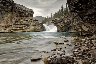 Elbow Falls lower view