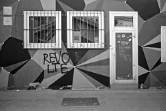 Pattern (Rene'D.) Tags: bw schwarzweiss monochrome pattern muster street streetphotography urban window door