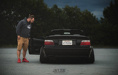 BMW 3 E36 CABRIO (JAYJOE.MEDIA) Tags: bmw 3 e36 cabrio low lower lowered lowlife stance stanced bagged airride static slammed wheelwhore