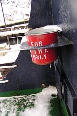 Bell Island Ferry, Fire Bucket (Joseph Topping) Tags: newfoundland canada winter