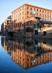 (DeepSane) Tags: london regentscanaltowpath reflections camdentown bridge
